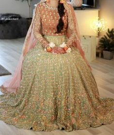 Inbox us to order ✉📬 Or contact 📞 +923074745633 📞☎ (WhatsApp ✔) #pakistanidresses #womensclothing #beautifuldress #partydress #latestcollection #bridaldresses #mehndidresses #womensfashion #fashiondresses #latestfashiondresses #lifestylefashion #trendycollection #weddingdresses2021 Bride Dresses, Formal Dresses, Wedding Dresses, Pakistani Mehndi, Mehndi Brides, Party Clothes, Indian Wear, Desi, Ball Gowns