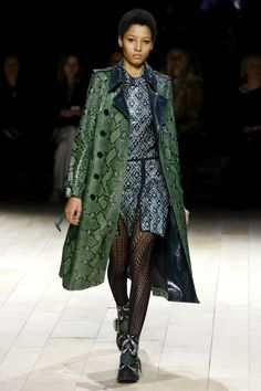 Burberry   Ready-to-Wear - Autumn 2016   Look 3