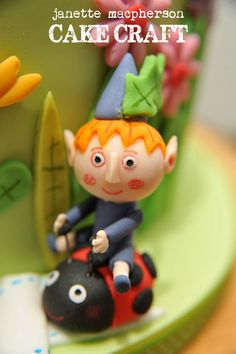 Ben and Holly Little Kingdom Cake