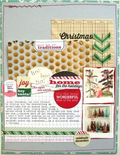 Christmas Traditions :: Elle's Studio // Nicole Harper