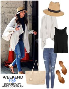 Weekend Style inspired by Andi Dorfman featuring Prima donna accessories