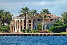 One of the billionaire mansions of south Florida