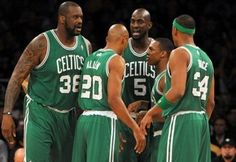 I miss when this was our current starting lineup. Not one of these guys is a Celtic anymore :(