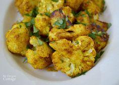 Patrząc dodać zdrowe dania boczne posiłków?  Pikantny pieczony kalafior Kurkuma cię wygra!