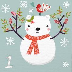 » Illustrated Advent Calendar: day 1