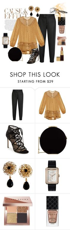 """""""""""Oh, What A Beautiful Blouse""""!"""" by onesweetthing ❤ liked on Polyvore featuring Envi, Helmut Lang, Zimmermann, Pour La Victoire, Elie Saab, Dolce&Gabbana, Chanel, Tom Ford, Bobbi Brown Cosmetics and Gucci"""