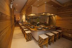 Gene Kato (Japonais) finally opens the doors to two parts of his tri-level project, Sumi Robata Bar and Charcoal Bar.
