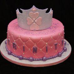 Trinity's crown/tiara cake