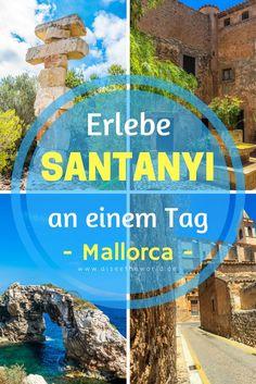 Erlebe Santanyi an einem Tag - Mallorca - Mallorca hat so viel zu bieten und es gibt wunderschöne Orte und Städte zu entdecken. Santanyi im Südosten der größten Baleareninsel ist einer davon. Ich zeige dir, was du an einem Tag in Santanyi erleben kannst.