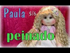 muñeca lolita Paula 5/6, peinado , manualilolis , video- 238 - YouTube Doll Videos, Doll Hair, Youtube, Try It Free, Crochet Hats, Dolls, Sewing, Handmade, Fabric Dolls