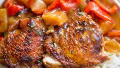 Slow Cooker Hawaiian Pineapple Chicken