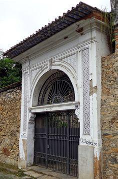 Azulejos antigos no Rio de Janeiro: Glória II - ladeira de Nossa Senhora