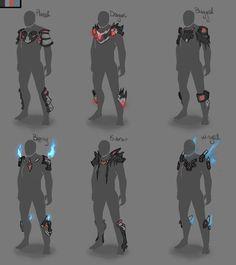Warframe Armor Concepts by BlazingCobalt on DeviantArt