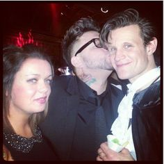 Matt at his bday party.  A Doctor a Day. <3
