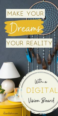 Do you have big dreams for your life? If so, creating a vision board can help you bring them to life. Find out why vision boards can be a powerful tool for achieving your goals. And, why a digital vision board can be a better choice than the traditional version. Plus, learn how to make a vision board that WORKS! Within 6 months of making mine, I saw some BIG shifts and goal markers come to fruition! Make your dreams your reality today! #howtomakeavisionboard #visionboardideas #makeyourdreamsreal Digital Vision Board, Intrinsic Motivation, Journal Writing Prompts, Creating A Vision Board, How To Manifest, Self Improvement Tips, Positive Mindset, How To Stay Motivated, Best Self