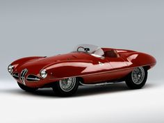 Alfa Romeo 1900 C52 Disco Volante Spider   Me like the red!!!  I'll hve one of these too, please ;)