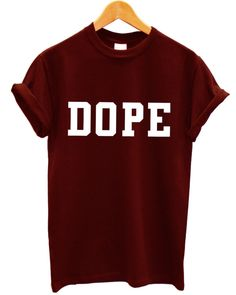 DOPE BAGGY WASTED YOUTH HIPSTER INDIE SWAG T SHIRT GEEK MEN WOMEN GIRLS | eBay