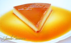 Crema de zahar ars - reteta video No Cook Desserts, Sweets Recipes, Cooking Recipes, Flan, Yummy Treats, Yummy Food, Romanian Food, Eat Dessert First, Diy Food