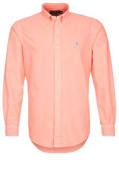 Polo Ralph Lauren CUSTOM FIT - Casual overhemd - Oranje - Zalando.be