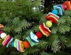 Scrappy Garland: Fab Felt Holiday Crafts