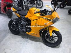 GPX Demon 150 GR 2019 yellow color