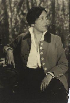 Romaine Brooks by Man Ray 1925