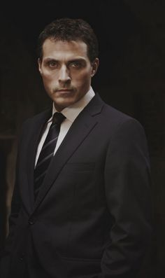 Rufus Sewell-Love the BBC series Zen. In this series you are a devoted son to a woman who is very alluring in her own right. Are you close to your own mother?