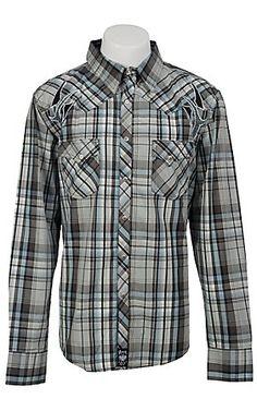 Wrangler Mens Rock 47 Western Shirt MRC141M | Cavender's