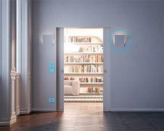 Eclisse система карман двери: запатентованная модель Luce