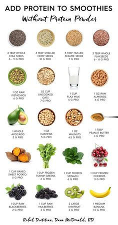 Add protein smoothies without powder. … – Diet and Nutrition – # add Add protein smoothies without powder. … – Diet and Nutrition – # add Healthy Detox, Healthy Smoothies, Healthy Drinks, Healthy Snacks, Healthy Eating, Vegetarian Smoothies, Veggie Smoothie Recipes, Vegetarian Meal, Diet Snacks