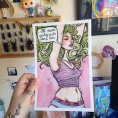 Another mini original!  I think I'll make 4 before I put them up for sale. #art…