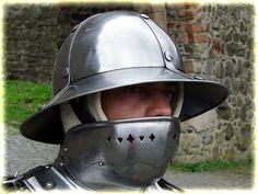 kettle hat helmet, polished - Zeughaus
