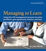 Managing to Learn: Using the A3 management