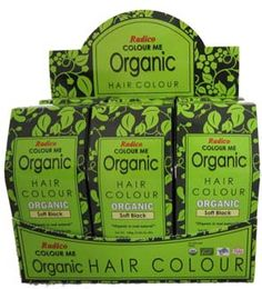Organic Hair Color dye. No PPD, Chemical, PAP, Heavy Metals, Ammonia, Resorcinol or Parabens.