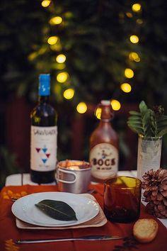 Romantic dinner table set - Decoración Mesa cena Romántica - Donostia - San Sebastián