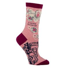Feeling a little mixed up? Throw people off with the beautiful floral pattern. Fits women's shoe size 5-10.