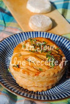 Photo de la recette Feuilleté au chèvre et aux pommes