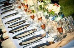 Gorgeous Head Table! www.AReveEvents.com