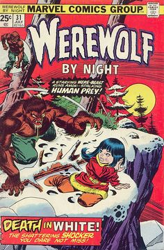 Werewolf by Night #31 cover by Gil Kane