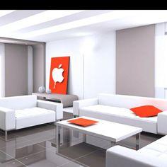 Apple style decoration! I want!