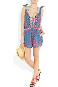 Mara Hoffman playsuit--so cute but sold out fast
