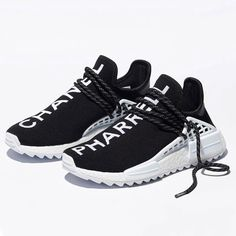 low priced 2a6f0 43426 The Chanel x Pharrell x adidas NMD Hu has been officially revealed. Only  500 pairs will release via lottery registration  the official retail price  is For ...