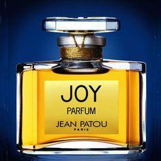 """Joy, """"Le parfum Le Plus Cher Du Monde"""" crée en 1930 pour Jean Patou"""