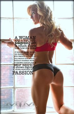 A fit body is deeper then what's on the surface...