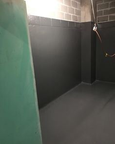 Amazing commerical garbage room completed DuroPoxy SLR-100 epoxy non slip flooring. Client needed a high chemical and hard wearing epoxy lining with a custom colour. All 3 requests were met with the Duropoxy system. #40years #Australianmade #solution #driven #waterproofing