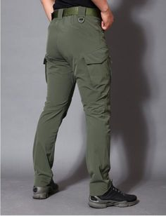 Army Military Pants Cotton Many Pockets Stretch Flexible Man Casual Trousers XXXL Straight Trousers, Slim Fit Trousers, Mens Trousers Casual, Men Pants, Casual Pants, Men Casual, Military Pants, Camouflage Pants, Tactical Pants