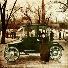 detroit electric vehicles 1915