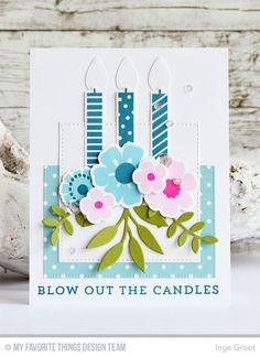 Vandaag de tweede dag gevuld met sneak peeks van de Card Kit van Juni van My Favorite Things Stamps . Elke maand verschijnt er ee...