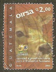 Guatemala Scott 501 Cow, Fauna Used - bidStart (item 41978568 in Stamps... Guatemala)