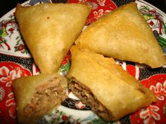 Traditional Moroccan Ramadan Recipes: Kefta Briouats - Moroccan Ground Meat Pastries